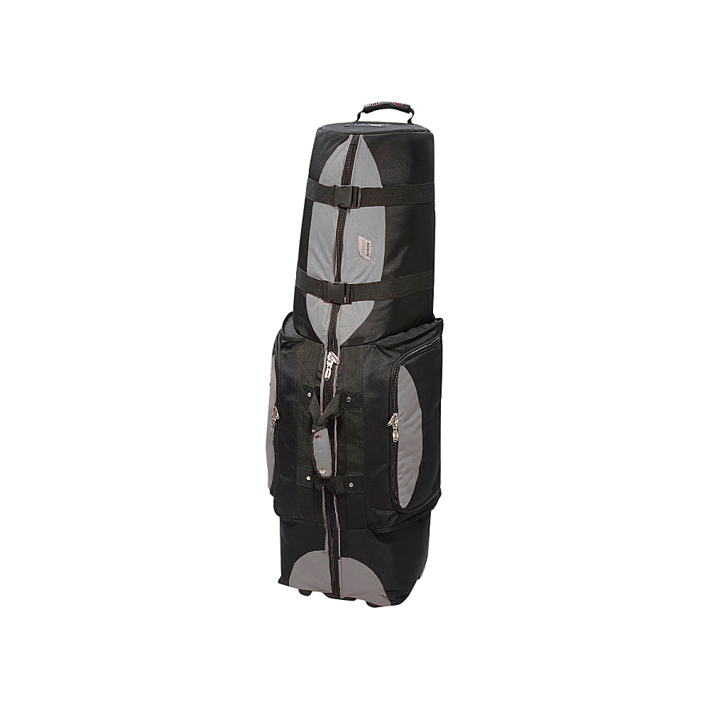 Andare Regiment Softside Wheeled Golf Set Travel Cover Grey Black Andare Sports Accessories
