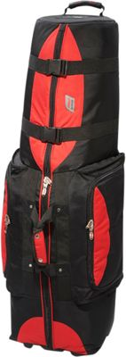 Andare Regiment Softside Wheeled Golf Set Travel Cover Red/ Black - Andare Golf Bags