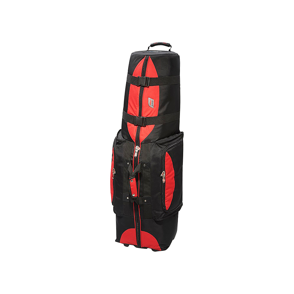 Andare Regiment Softside Wheeled Golf Set Travel Cover Red Black Andare Sports Accessories