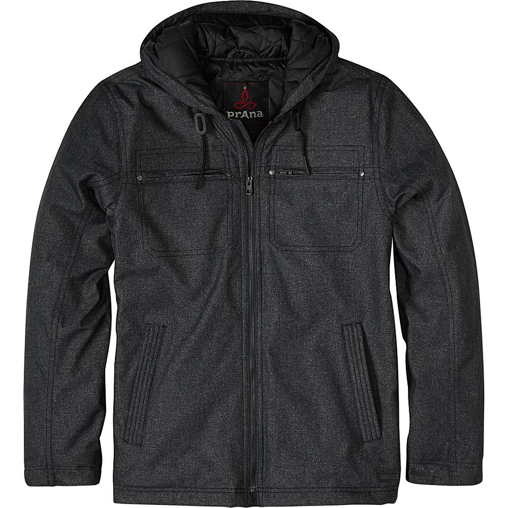 PrAna Holmes Jacket M - Black Heather - PrAna Mens Apparel - Apparel & Footwear, Men's Apparel