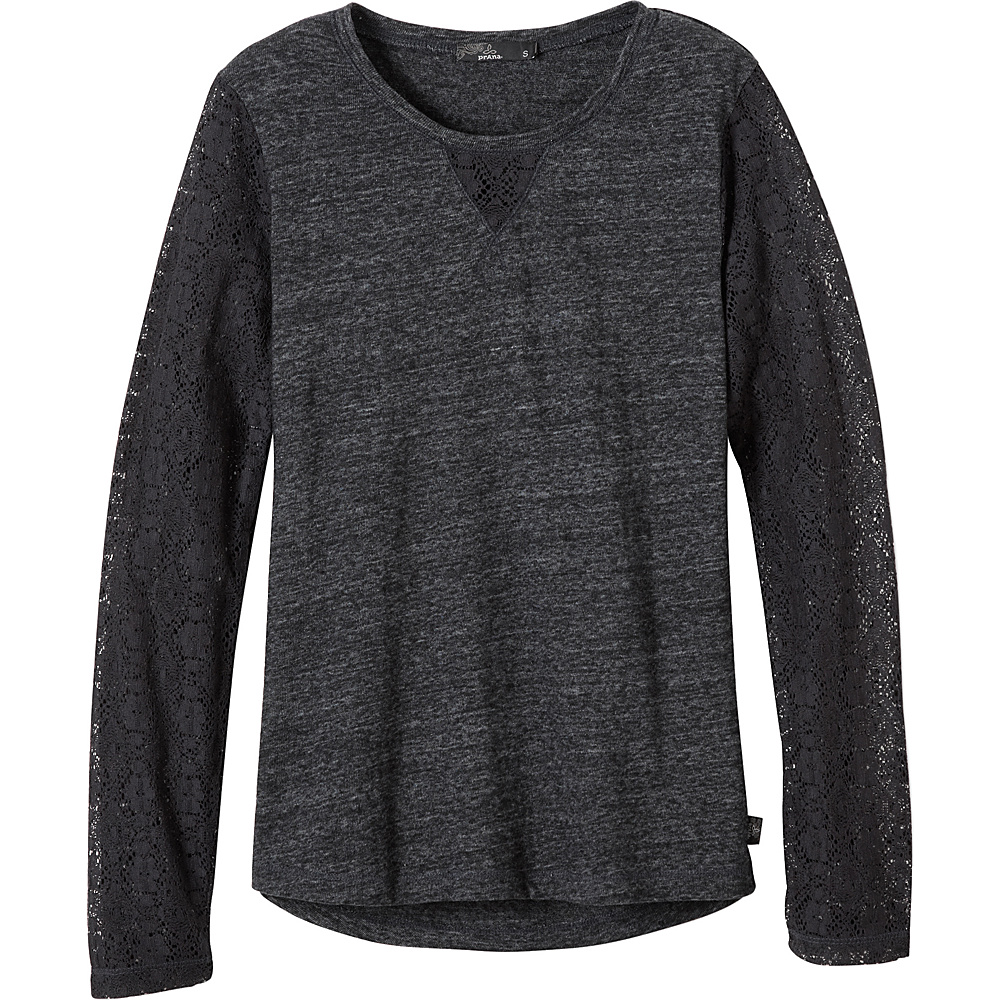 PrAna Darla Top M - Black - PrAna Womens Apparel - Apparel & Footwear, Women's Apparel