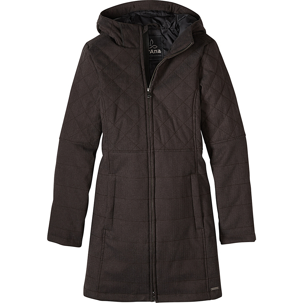 PrAna Inna Jacket L - Charcoal - PrAna Womens Apparel - Apparel & Footwear, Women's Apparel