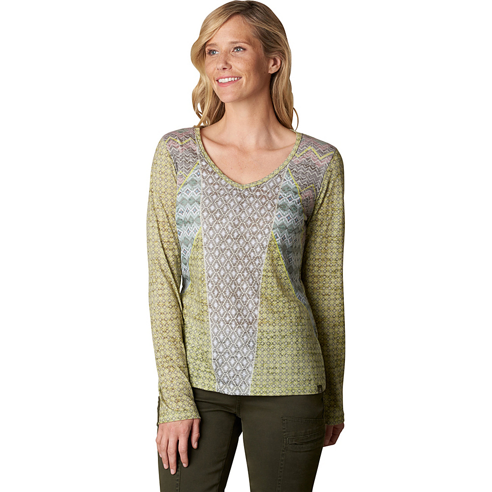 PrAna Mariposa Top XL - Pear - PrAna Womens Apparel - Apparel & Footwear, Women's Apparel
