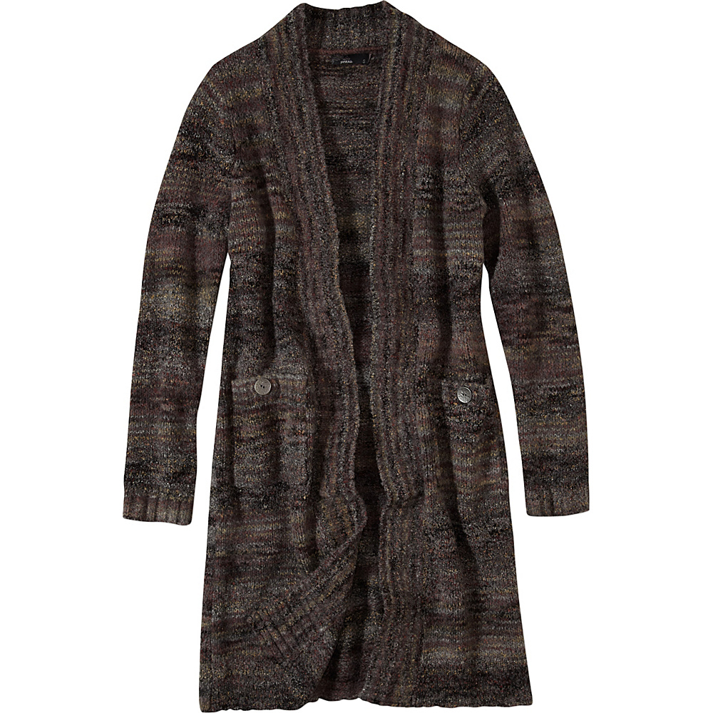 PrAna Sabina Duster L - Charcoal - PrAna Womens Apparel - Apparel & Footwear, Women's Apparel