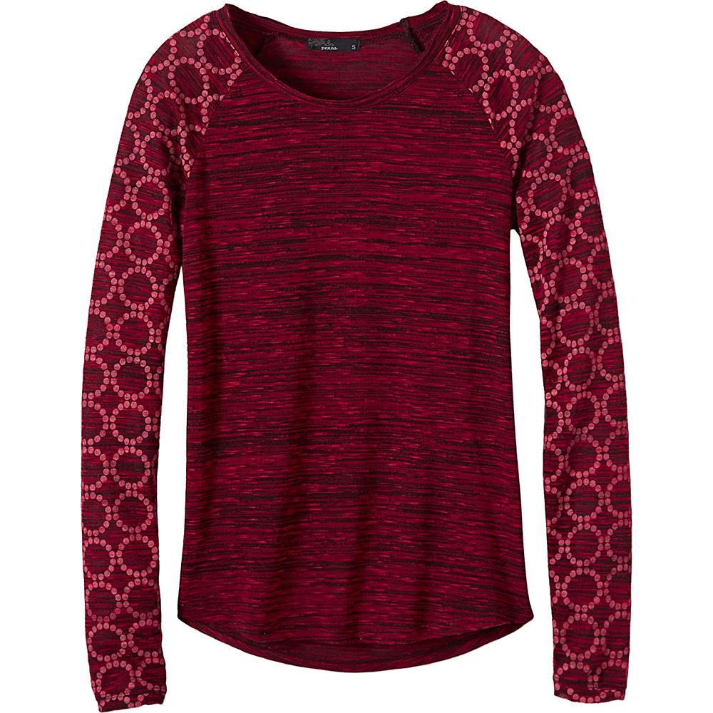 PrAna Zanita Top L - Sunwashed Red - PrAna Womens Apparel - Apparel & Footwear, Women's Apparel