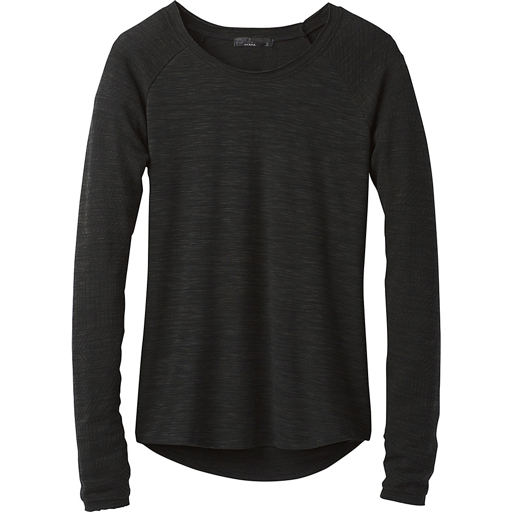 PrAna Zanita Top M - Charcoal - PrAna Womens Apparel - Apparel & Footwear, Women's Apparel