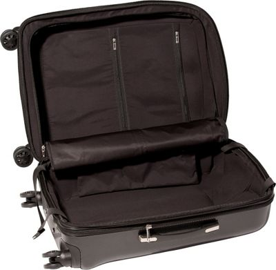 cased luggage one 30 quot checked bag 3 colors hardside