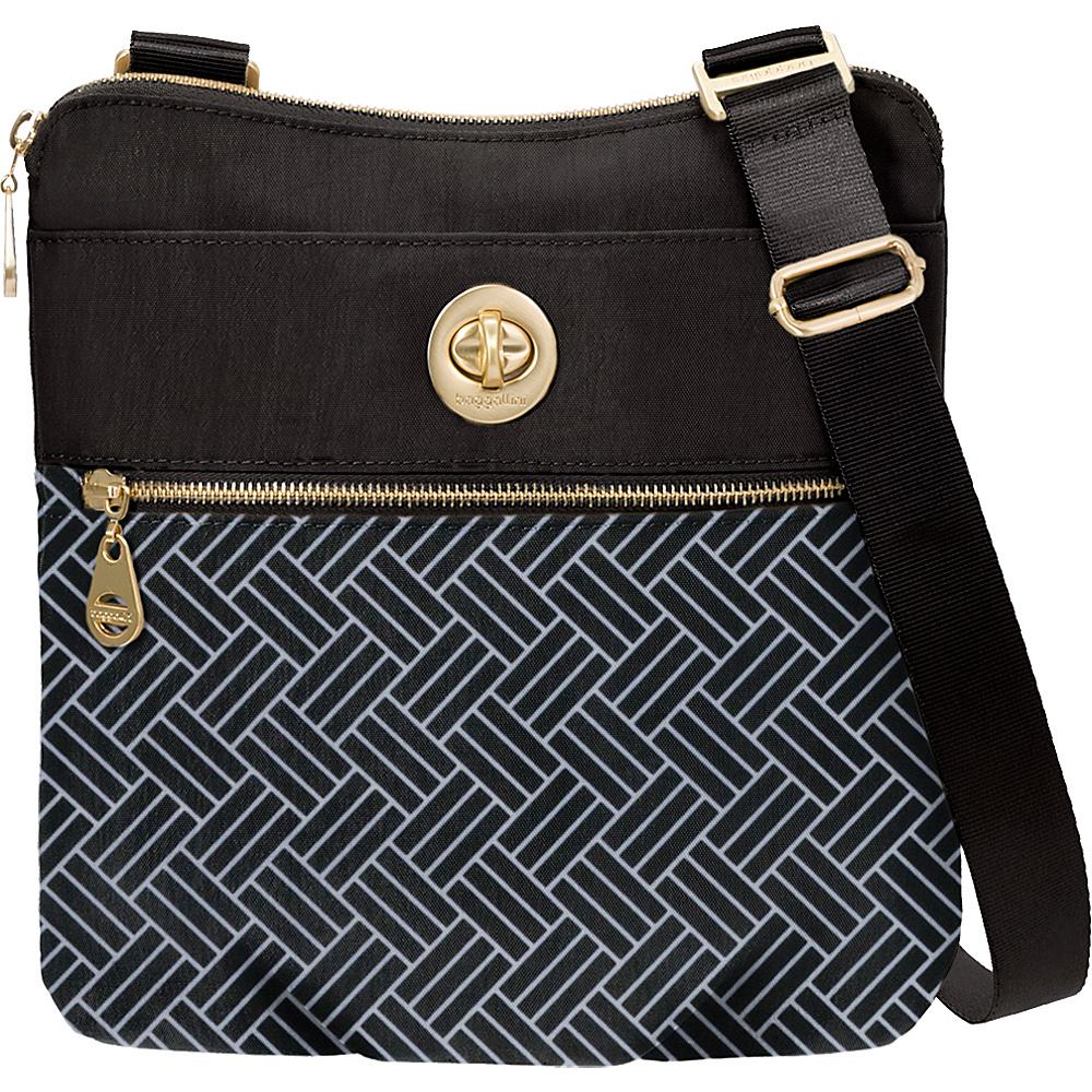 baggallini Hanover Basket Weave Crossbody Basket Weave - baggallini Fabric Handbags - Handbags, Fabric Handbags
