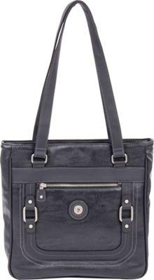 Mouflon Original RFID Generation Tote Black/Black - Mouflon Original Manmade Handbags