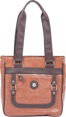 Mouflon Original RFID Generation Tote Tan/Brown - Mouflon Original Manmade Handbags