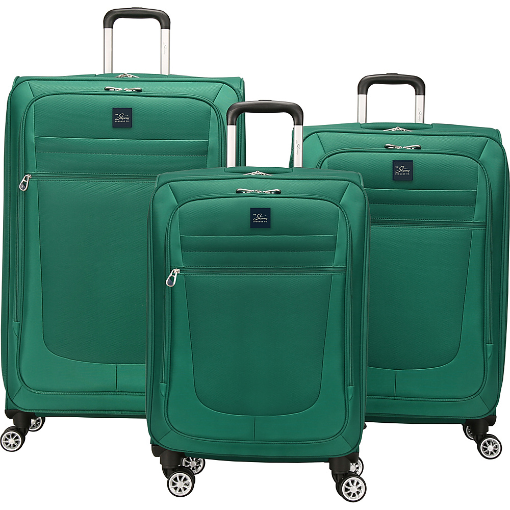 Skyway Deluxe Revel 3 Piece Set Teal Skyway Luggage Sets