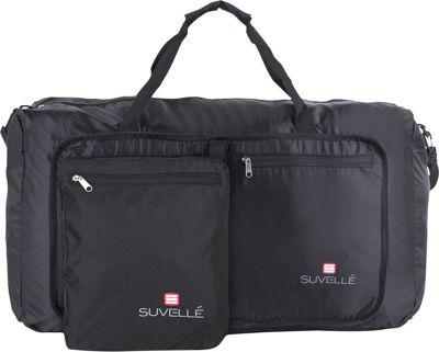 Suvelle Lightweight 29 inch Travel Foldable Duffel Bag Black - Suvelle Travel Duffels