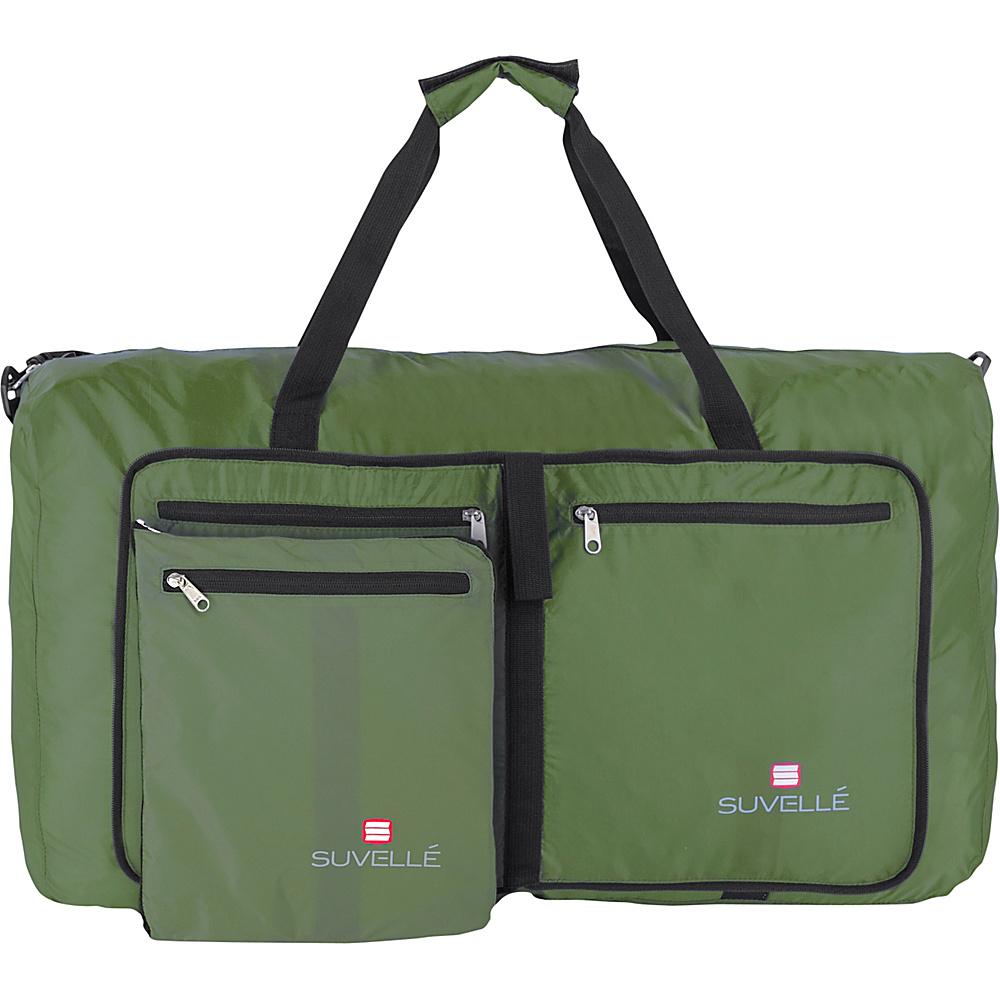 Suvelle Lightweight 29 Travel Foldable Duffel Bag Khaki Suvelle Travel Duffels