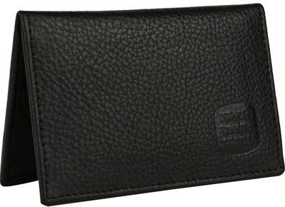 Suvelle Mens Thin RFID Slim Leather Card Holder Wallet Black - Suvelle Men's Wallets