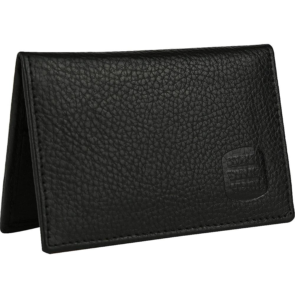 Suvelle Mens Thin RFID Slim Leather Card Holder Wallet Black Suvelle Men s Wallets