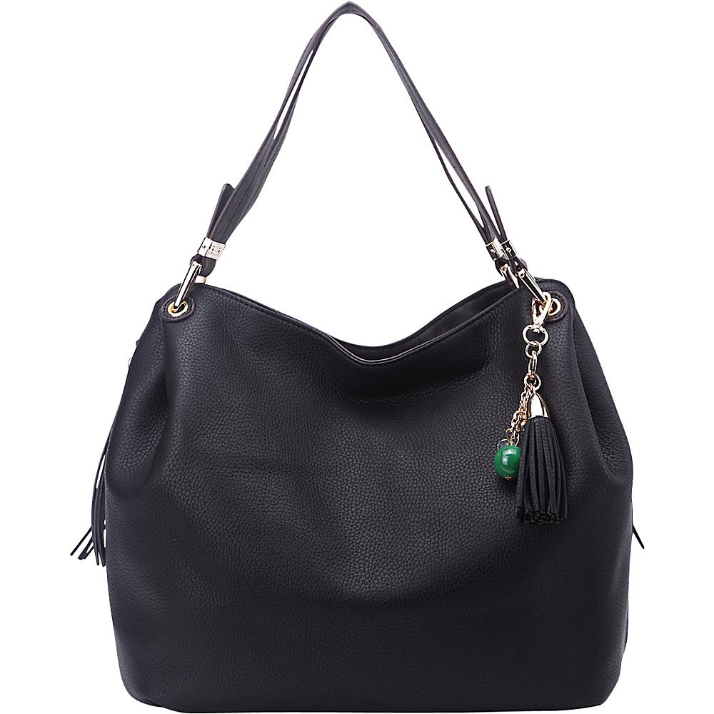 MKF Collection Freedom Designer Hobo Bag Black - MKF Collection Gym Bags - Sports, Gym Bags