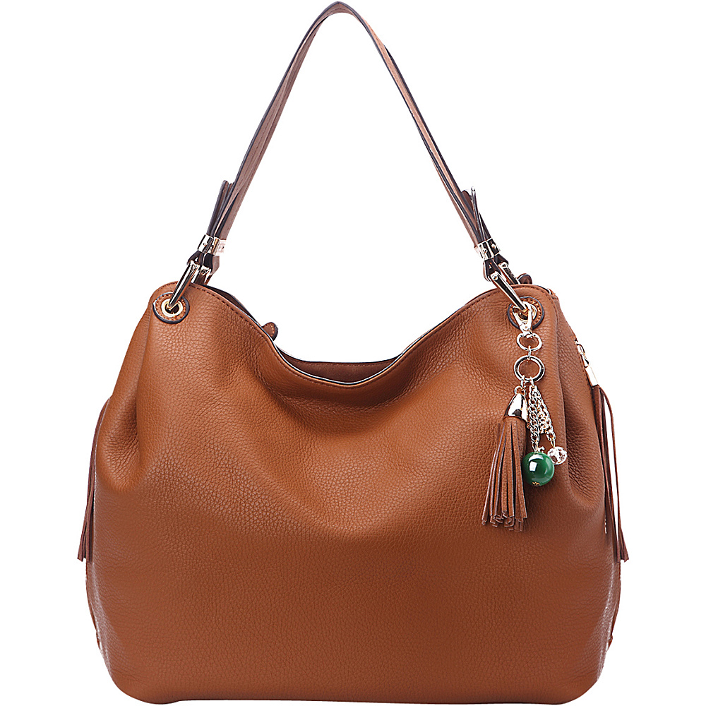 MKF Collection Freedom Designer Hobo Bag Brown - MKF Collection Gym Bags - Sports, Gym Bags