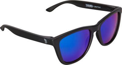 BlobFish Sunglasses Lake Fork Polarized Sunglasses Matte Black/Blue-Purple - BlobFish Sunglasses Sunglasses