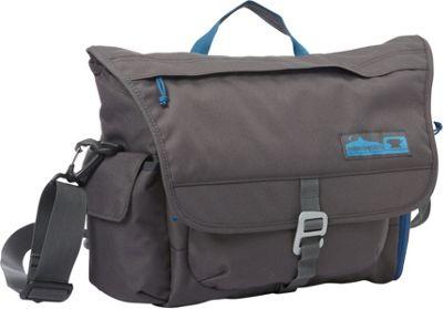 Mountainsmith Adventure Office Small Messenger Bag Anvil Grey - Mountainsmith Messenger Bags