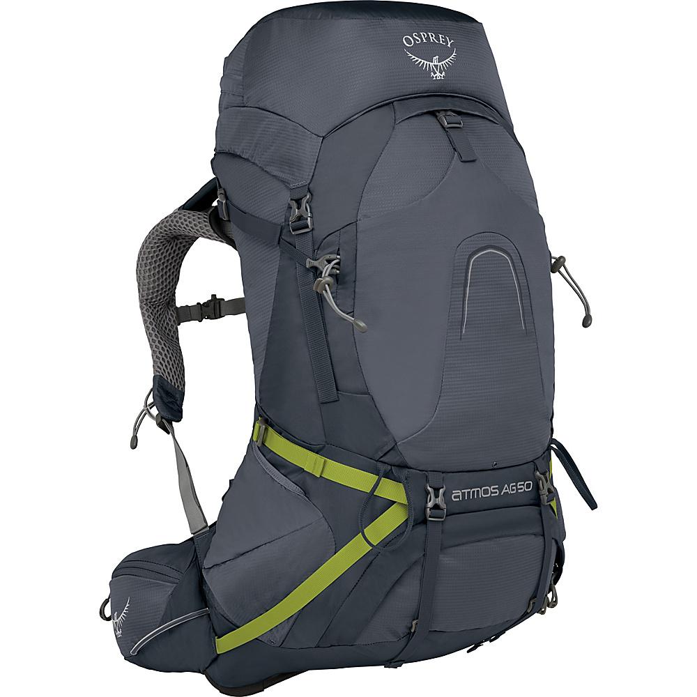 Osprey Atmos AG 50 Backpack Abyss Grey – LG - Osprey Backpacking Packs - Outdoor, Backpacking Packs
