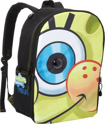 Mojo Life Sponge Bob Big Face Backpack Yellow - Mojo Everyday Backpacks