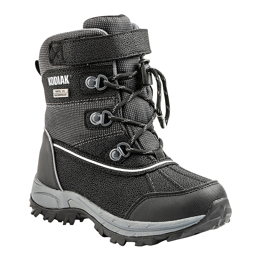 Kodiak Mason Boot 13 US Kid s M Regular Medium Black Grey Kodiak Women s Footwear