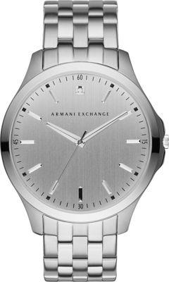 A/X Armani Exchange Hampton Watch Silver - A/X Armani Exchange Watches