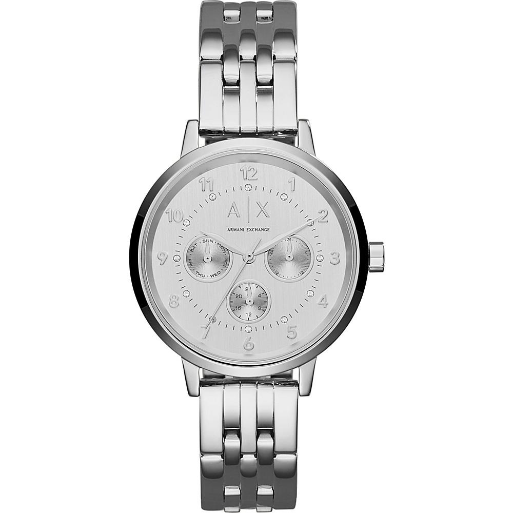 A X Armani Exchange Active Watch Silver A X Armani Exchange Watches