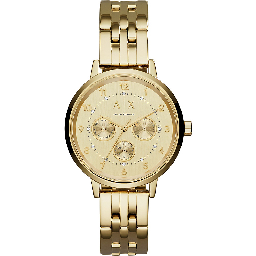A X Armani Exchange Active Watch Gold A X Armani Exchange Watches