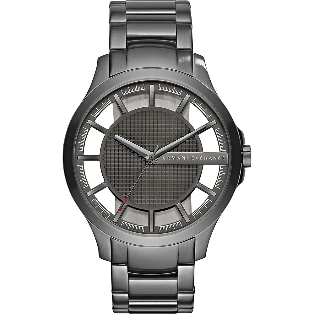 A X Armani Exchange Smart Stainless Steel Watch Grey Grey A X Armani Exchange Watches