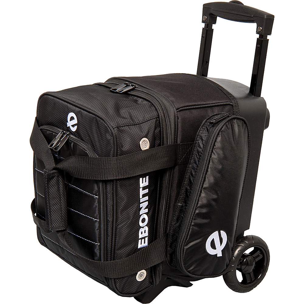 Ebonite Eclipse Single Roller Bowling Bag Black Ebonite Bowling Bags