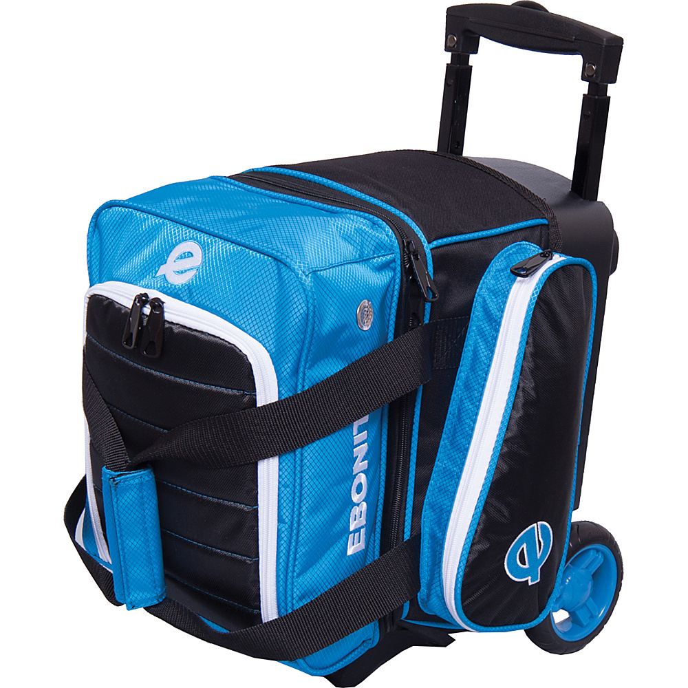 Ebonite Eclipse Single Roller Bowling Bag Blue Ebonite Bowling Bags
