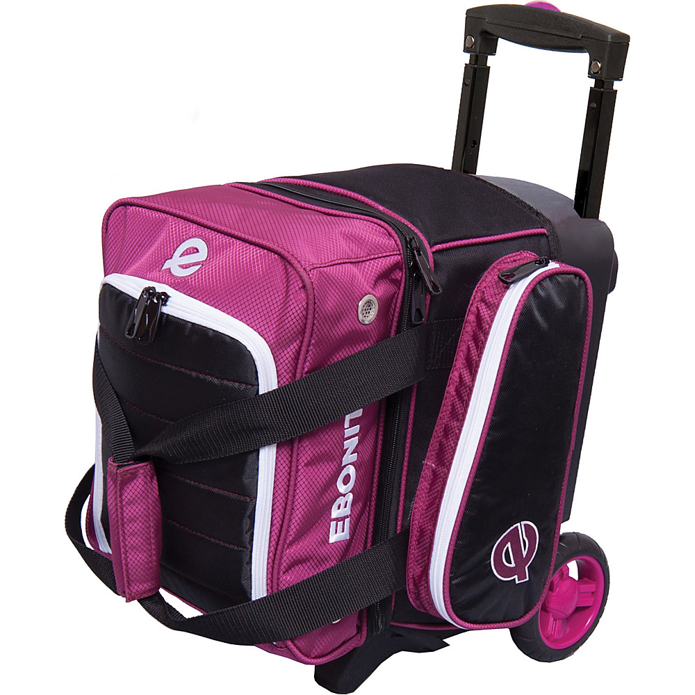 Ebonite Eclipse Single Roller Bowling Bag Plum Ebonite Bowling Bags