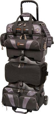Hammer Premium Six Ball Roller Bowling Bag Carbon - Hamme...