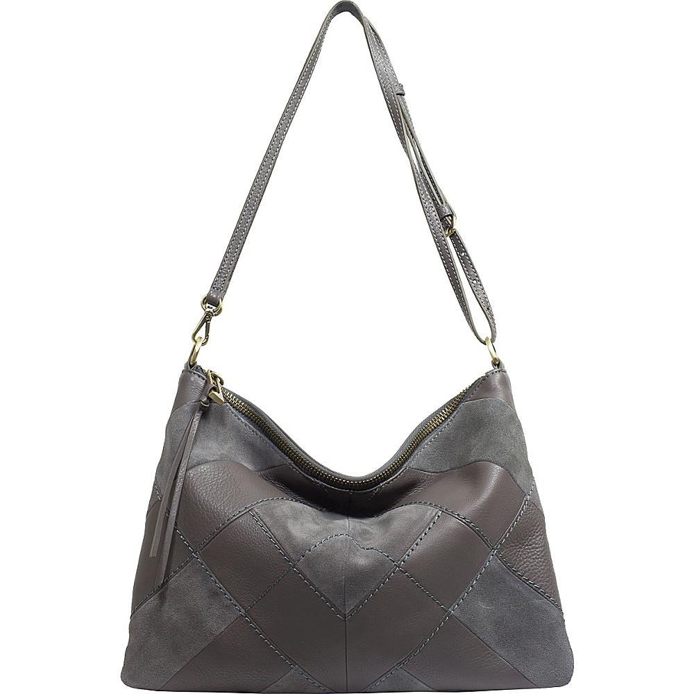Sanctuary Handbags Modern Patchwork Crossbody Grey Mica Sanctuary Handbags Designer Handbags