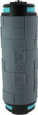 Coleman SoundTrail Barrel Waterproof Bluetooth Speaker Grey - Coleman Headphones & Speakers