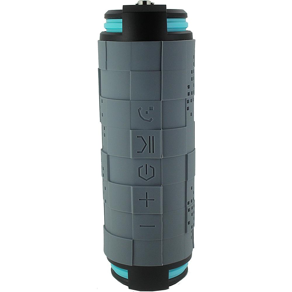 Coleman SoundTrail Barrel Waterproof Bluetooth Speaker Grey Coleman Headphones Speakers