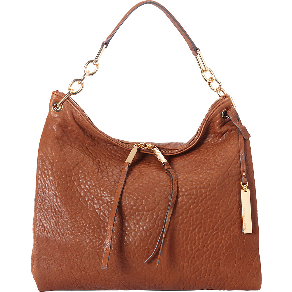 Vince Camuto Avin Hobo Brandy Vince Camuto Designer Handbags