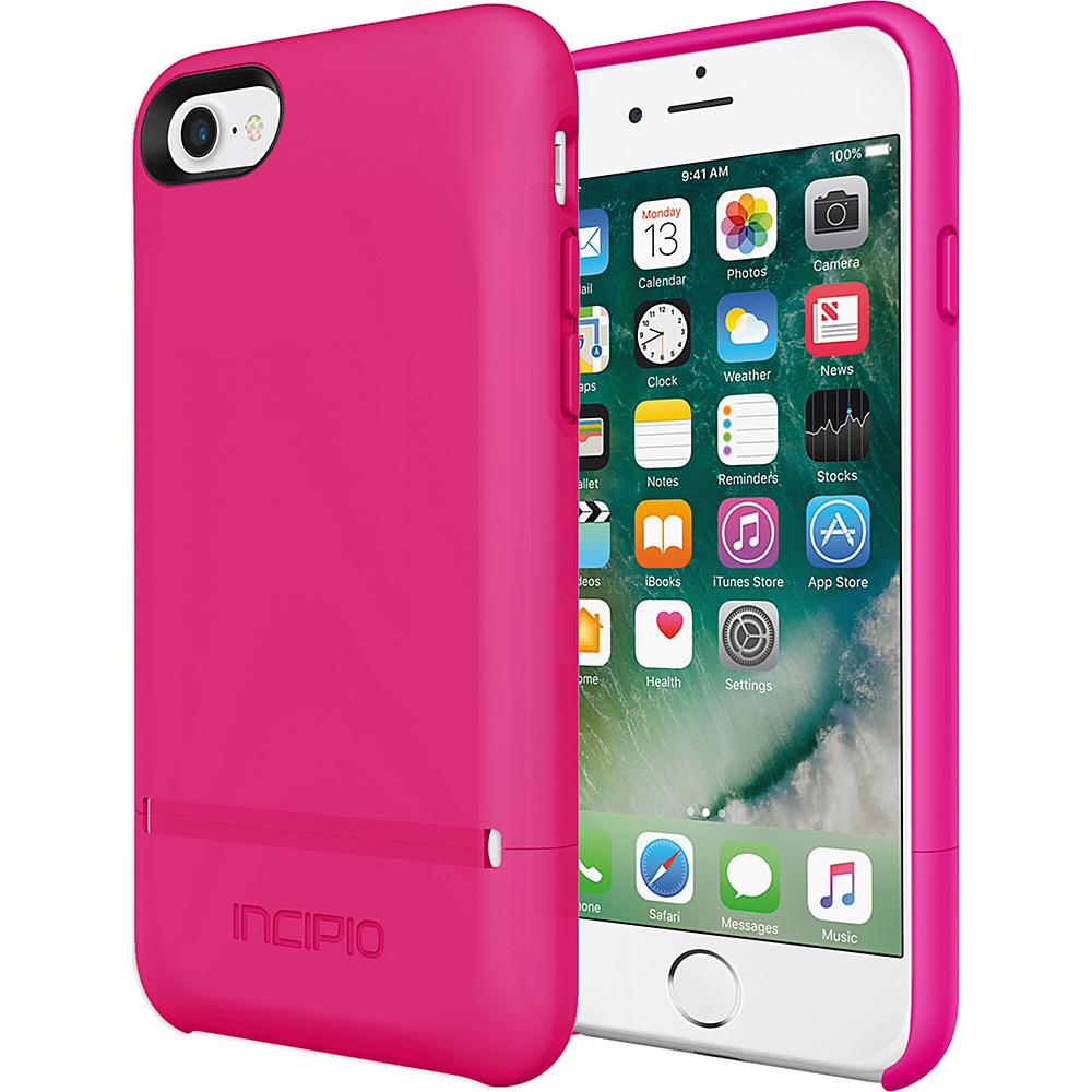 Incipio Stashback for iPhone 7 Berry Pink(BPK) - Incipio Electronic Cases - Technology, Electronic Cases