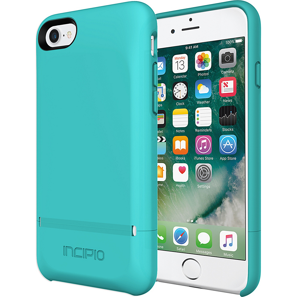 Incipio Stashback for iPhone 7 Turquoise - Incipio Electronic Cases - Technology, Electronic Cases