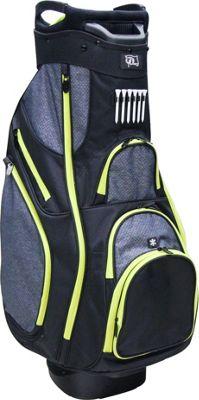 RJ Golf Deluxe Cart Bag Black - RJ Golf Golf Bags