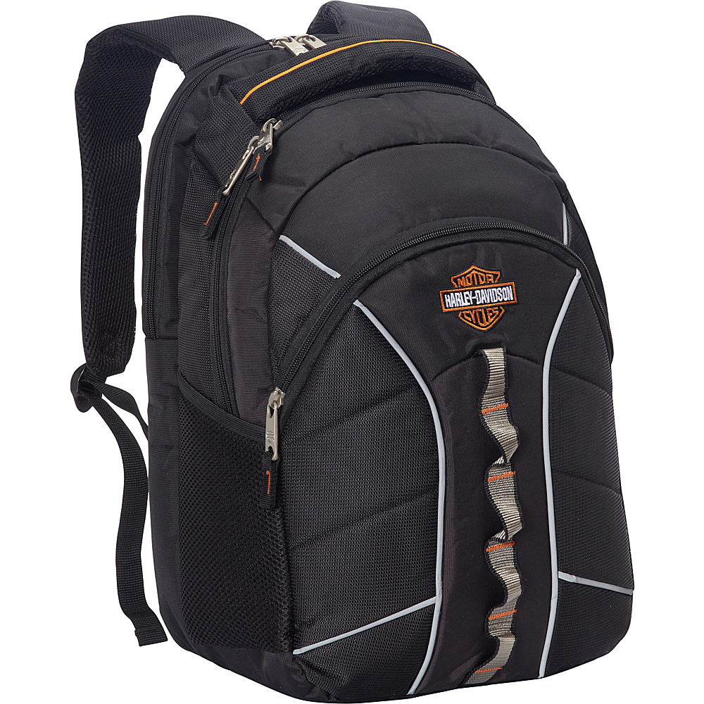 Harley Davidson by Athalon Harley Davidson Laptop Backpack Black Harley Davidson by Athalon Business Laptop Backpacks
