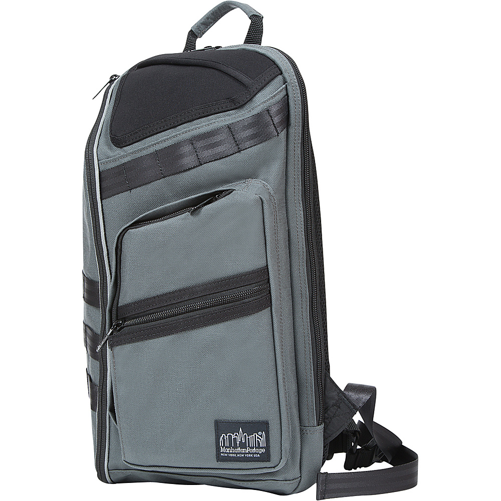 Manhattan Portage Chambers Bag JR. Gray - Manhattan Portage Business & Laptop Backpacks - Backpacks, Business & Laptop Backpacks