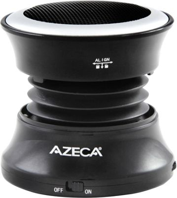 Azeca Mini Pop-Up Bluetooth Speaker Black - Azeca Headphones & Speakers