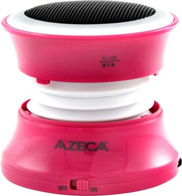 Azeca Mini Pop-Up Bluetooth Speaker Hot Pink - Azeca Headphones & Speakers