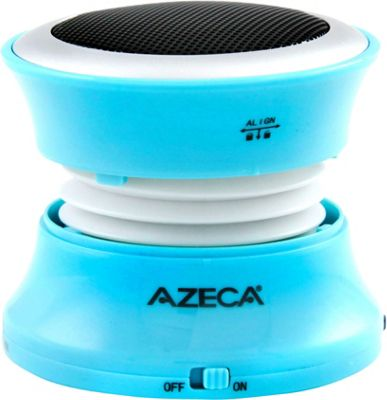 Azeca Mini Pop-Up Bluetooth Speaker Aqua - Azeca Headphones & Speakers