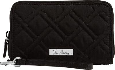 Vera Bradley RFID Grab & Go Wristlet - Solid Classic Black - Vera Bradley Women's Wallets