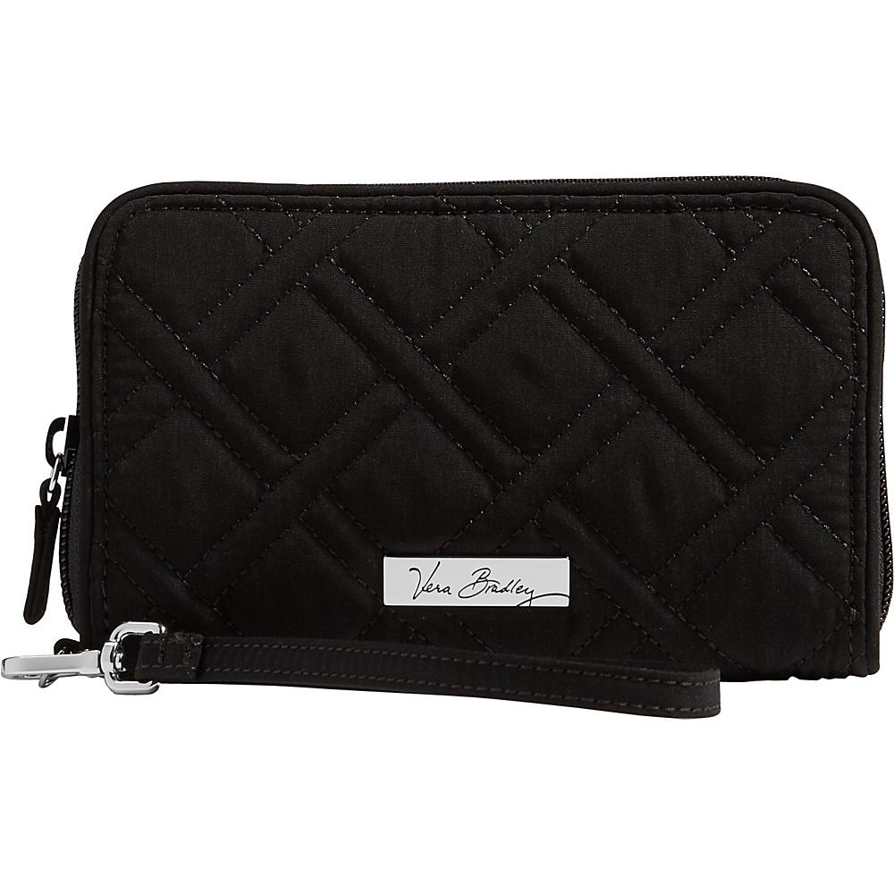 Vera Bradley RFID Grab & Go Wristlet - Solid Classic Black - Vera Bradley Womens Wallets - Women's SLG, Women's Wallets