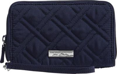 Vera Bradley RFID Grab & Go Wristlet - Solid Classic Navy - Vera Bradley Women's Wallets