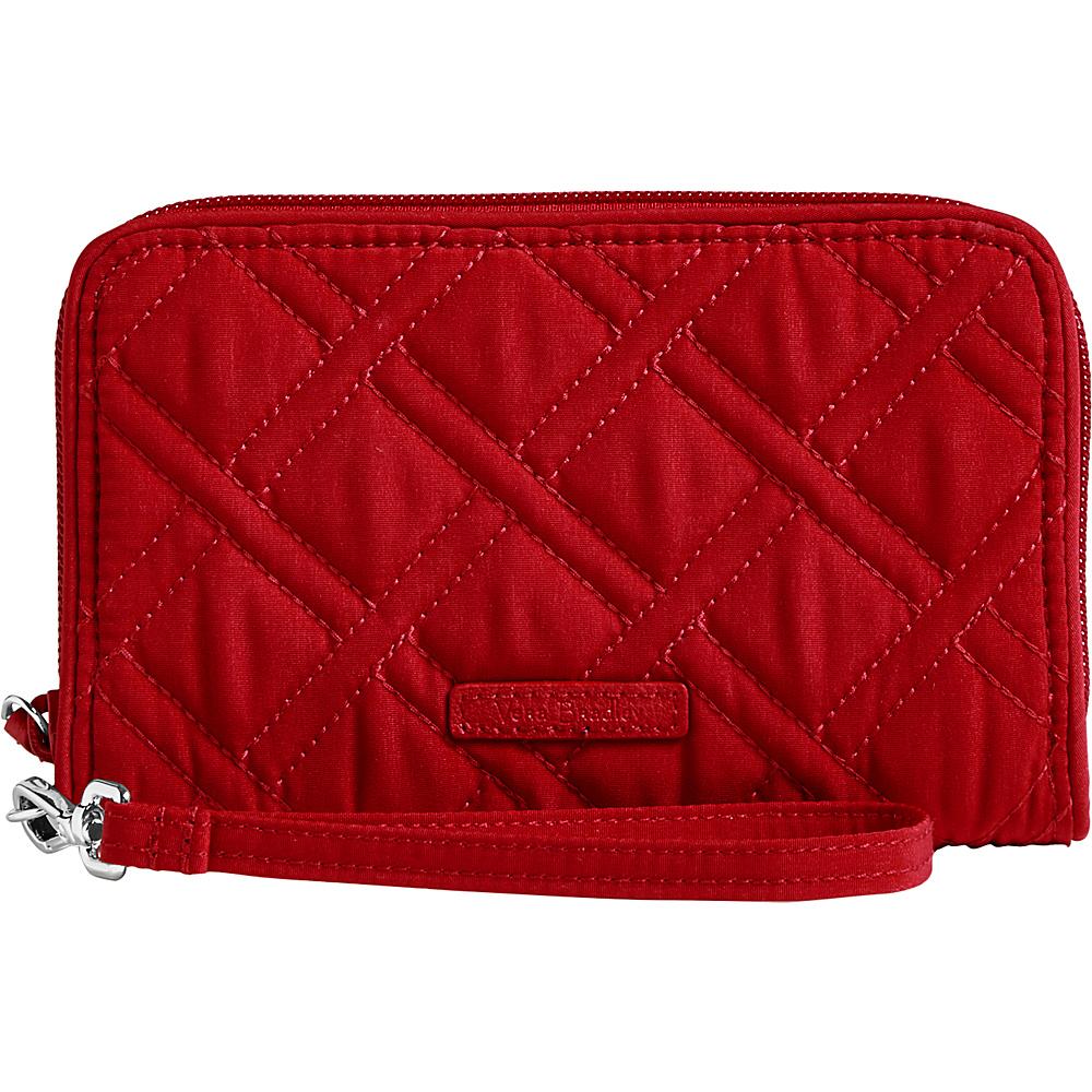 Vera Bradley RFID Grab & Go Wristlet - Solid Cardinal Red - Vera Bradley Womens Wallets - Women's SLG, Women's Wallets